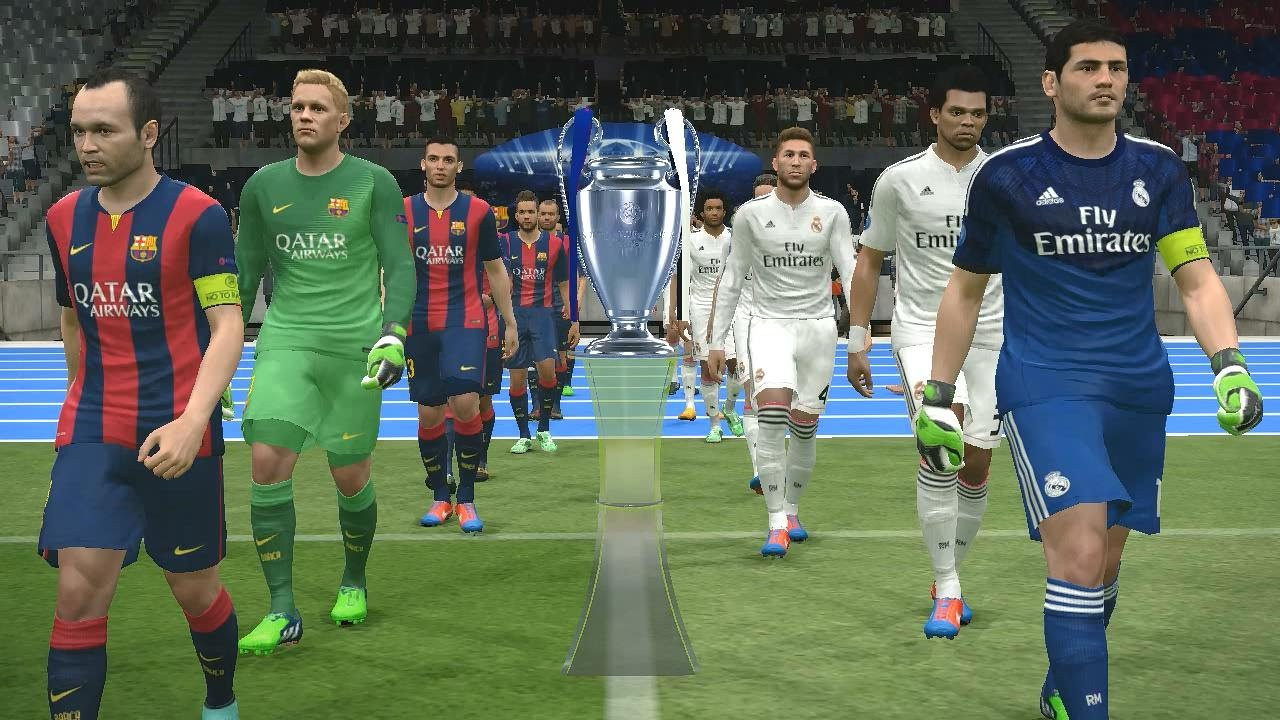 size 40 0cfb3 bb4e1 PES 2015 UEFA Champions League Final (Real Madrid vs FC Barcelona Gameplay)