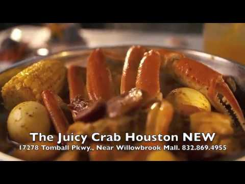 The Juicy Crab - Houston NOW OPEN! Cajun Style Seafood Boil, New Restaurant
