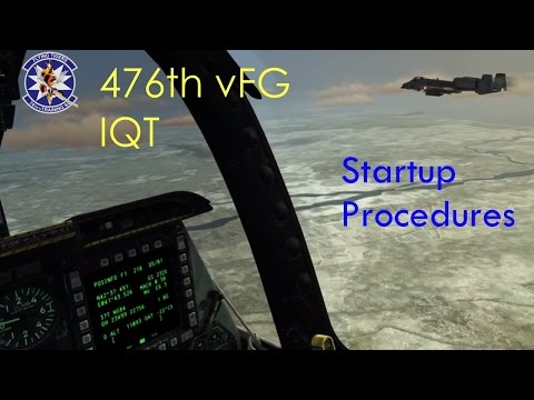 476th vFG - IQT - Startup Procedures