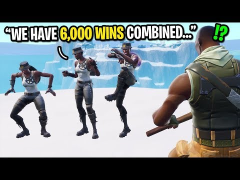 I hired 3 rare RECON EXPERTS to carry me in Fortnite... (They have 6,000 TOTAL WINS!)