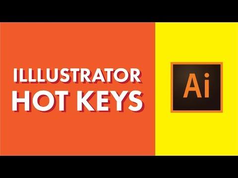 Adobe Illustrator | Keyboard Shortcuts You NEED To learn