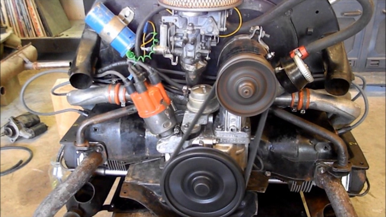 Volkswagen 1600cc Dual Port Motor Build
