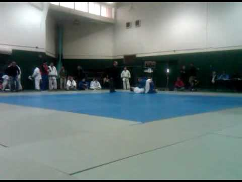 Rick Hysell Vs Jim Murray At 2010 Michigan State Judo Championships, 3/21/2010