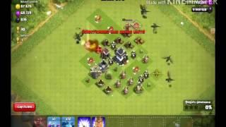 GROS massacre Clash of clans (serveur privé) !