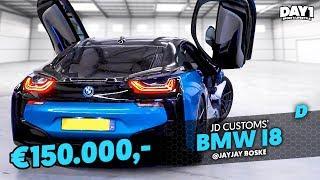 150.000,- BMW i8 van JD Customs || #DAY1 Afl. #5