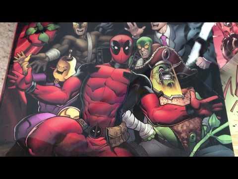 Deadpool 2 Art Resin Collage !!! Must see !!! Merica !