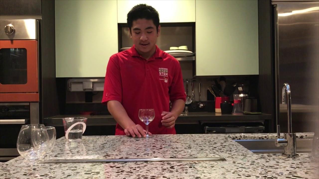 Making Wine Glasses Sing by Sean