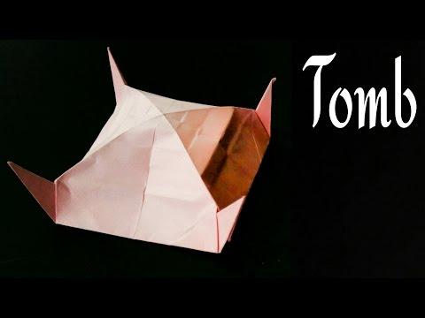 Origami Paper Tomb / Tent !!