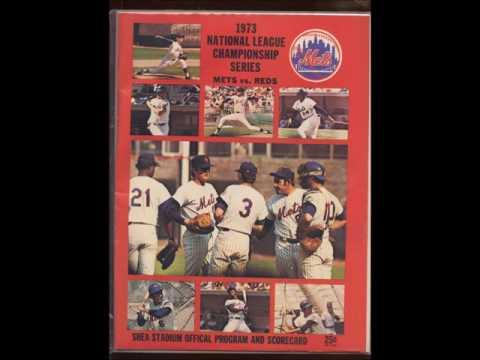 1973 NLCS  Souvenir Record (Mets vs. Reds)