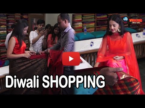Diwali Special Shopping: Helly Shah At Store Launch Of Sundari Silks | Swaragini Fame Helly Shah