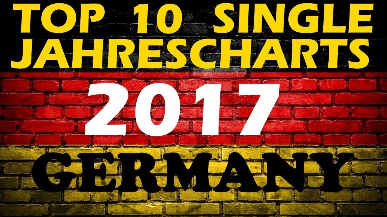 top 10 single jahrescharts deutschland 2017 year end single charts germany chartexpress. Black Bedroom Furniture Sets. Home Design Ideas