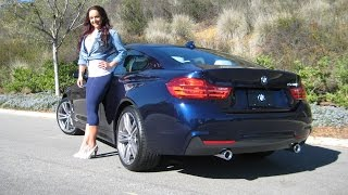 "NEW BMW 440I Tanzanite Blue / Exhaust Sound / 19"" M Wheels / BMW Review"