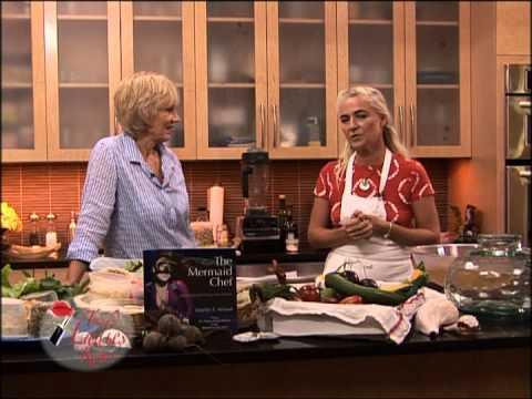 The Mermaid Chef Raw & Pranic Food part 1/2