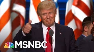 Donald Trump Team Uses Gun Tragedy As Cover, Reveals Financial Documents | Rachel Maddow | MSNBC