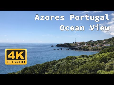 4K Azores Pico Portugal Calheta De Nesquim - Ultra HD Nature Video - 2160p