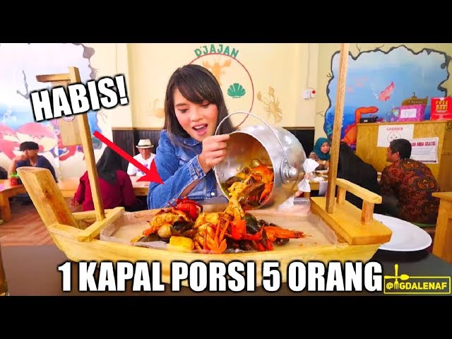 HABISIN SEAFOOD 1 KAPAL !