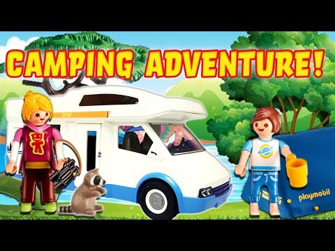 LOL Surprise Dolls Camping Adventure! Playmobil Blind bag Unboxing Featuring Queen Bee!