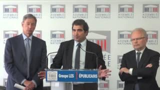 Conférence de presse du Président Christian Jacob du 29/03/2016