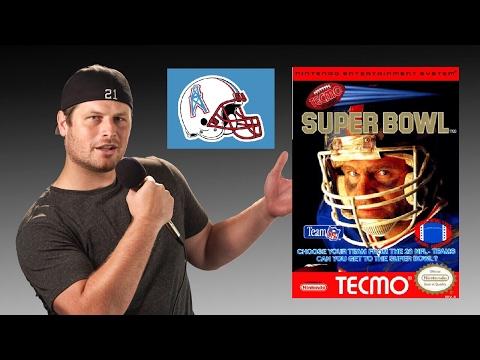 Tecmo Super Bowl - NES - Houston Oilers - Tecmo Madison Training XIII