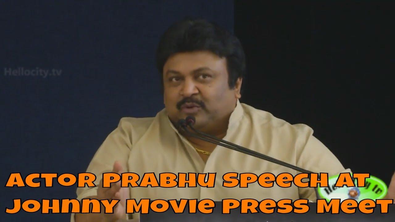 Cine Film Actors Rakta Charitra: Johnny Movie Press Meet