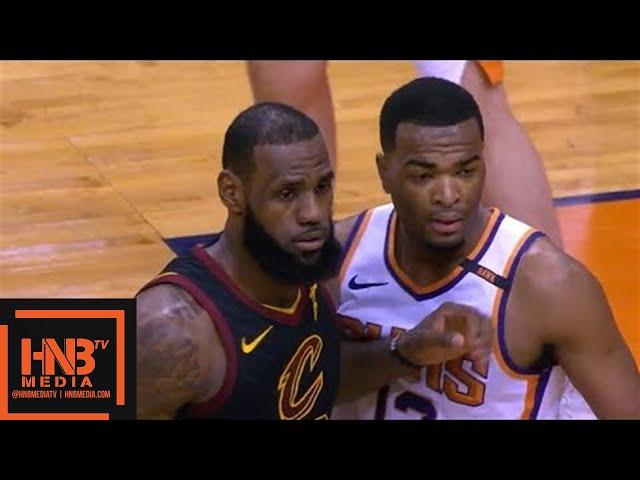 Cleveland Cavaliers vs Phoenix Suns 1st Half Highlights / March 13 / 2017-18 NBA Season #1