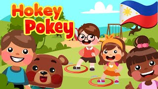 Hokey Pokey in Filipino | Philippines Kids Nursery Rhymes & Songs | Awiting Pambata
