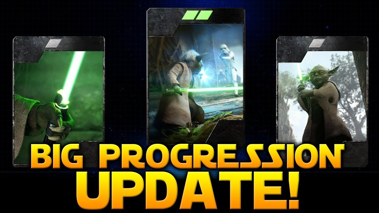 BIG PROGRESSION & LOOT CRATE UPDATE! - Star Wars ...
