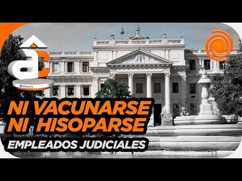 Córdoba: polémica por los judiciales que no quieren vacunarse ni hisoparse