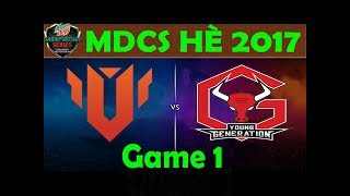 11 6 2017 highlight game 1 utm vs yg vcsa ma h 2017