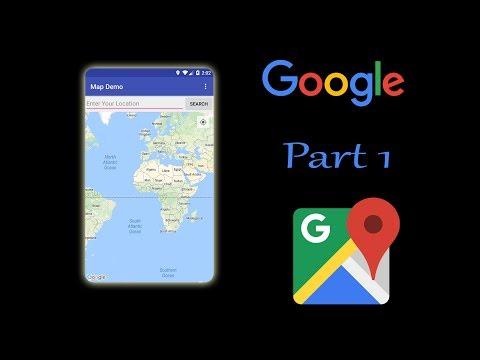 Android studio online Google map app tutorial in hindi part 1