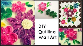DIY Quilling wall art|Paper quilling wall frame