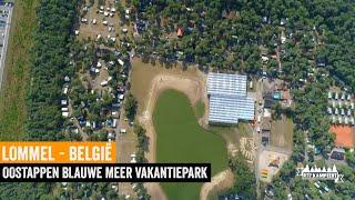 Kamperen net over de grens I Oostappen Blauwe Meer Vakantiepark I België