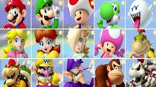 Mario Tennis: Ultra Smash - All Characters