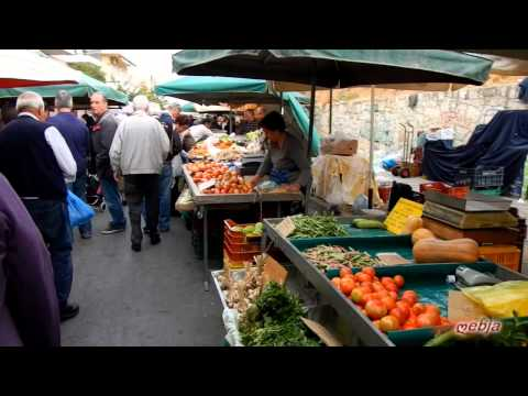 Crete - Saturday market in Chania