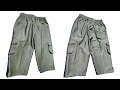 Three Quarter Pants Cutting Tutorial by NT Fashion Point