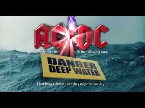 """AC DC 'tribute' song """"Danger Deep Water"""" - UK Song Comp Rock Winner"""