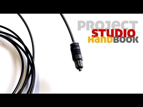 How to connect audio devices with Toslink leads