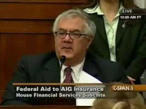 Chairman Frank Questions Liddy on AIG