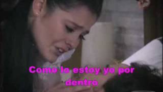 La Mirada - D`Paso (En Nombre del Amor, Paloma e Iñaki) Karaoke