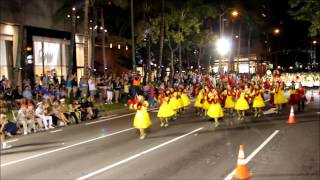 Hawaii All State Marching Band (HASMB) Waikiki Holiday Parade 2013
