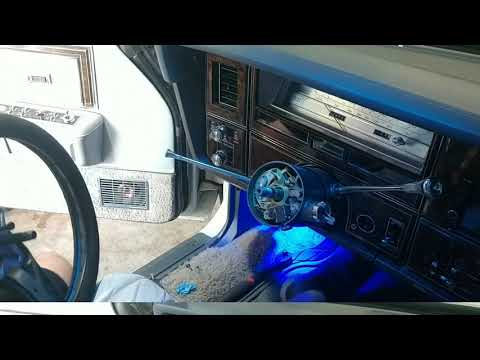 How to remove and replace steering wheel 1978 Lincoln Continental Town car, Ford, Grand Marquis,