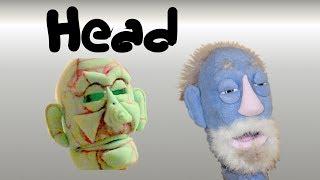 Foam Puppets Head Construction Good (Step 14A)