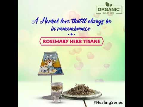 Radhika Fine Teas: Rosemary Herb Tisane