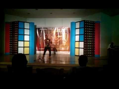 Godzoe Performing His Song (SUPER GUY) @ National Theater Ghana