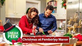 Christmas At Pemberley Manor (Exclusive Sneak Peek) Jessica Lowndes, Michael Rady | Hallmark Channel
