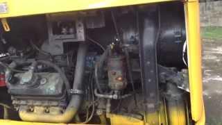 1980 GMC RTS Bus Start Up. Detroit Diesel 6v92