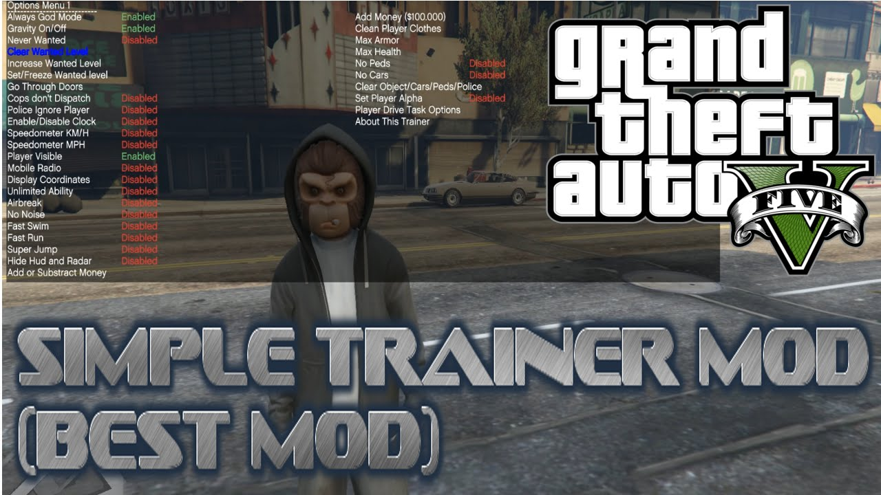 Simple Trainer for GTAV - Scripts & Plugins - GTAForums