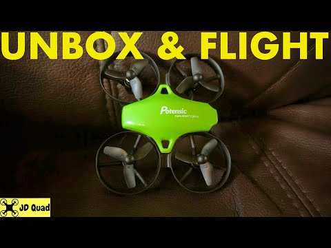 Download Potensic Firefly A20 Tiny Whoop Indoor Unbox & Flight Video