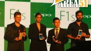 Oppo F1S India Launch Event & Keynote | Sonam Kapoor | Yuvraj Singh