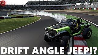 Forza Motorsport 7: JEEP TRAILCAT, DRIFT SUSPENSION w/ 1,000+ Horsepower! FULL BUILD